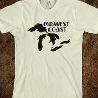 Mid West Coast T-Shirt- FOLLOW ME AND ENJOY<3