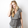 SMYTHE Ballet Blouse in Ecru at Revolve Clothing - Free Shipping!