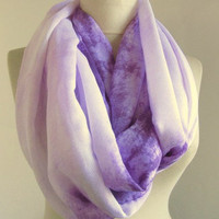 Lavander scarf-Infinity scarf-%20 off-Circle Infinity Scarves-Cotton scarf-asuhan-Loop Scarf