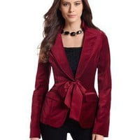 Ruby Velvet Jacket - White House | Black Market