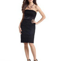 Strapless Lace Dress - White House | Black Market