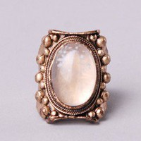 Low Luv x Erin Wasson Moonstone Ring at AKIRA