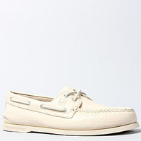 The A/O 2-Eye Boat Shoe in Ice
