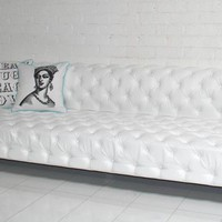 www.roomservicestore.com - Trousdale Sofa - white faux leather