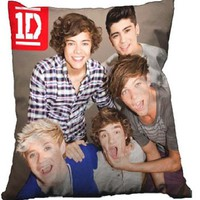 "Cool Stuff - One Direction 14"" Photo Pillow - Group Shot, Open Mouth"