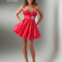 FLIRT by Maggie Sottero Homecoming Dresses-Sunplosion Sweet Taffeta Bubble Short Dress - Unique Vintage