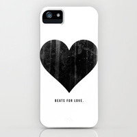 Beats for Love. iPhone Case by Unraveled | Society6