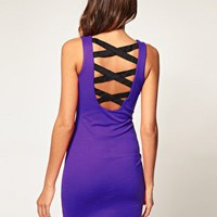 ASOS | ASOS Bodycon Dress with Strappy Back at ASOS