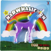 "Amazon.com: Narwhalicorn ""Half Unicorn - Half Narwhal"" (Majestic and Bendable): Toys & Games"