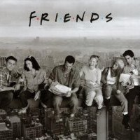 Amazon.com: Friends Poster (Lunch on Skyscraper) TV Full Size Print Collections Poster Print, 36x24 Poster Print, 36x24: Home & Kitchen