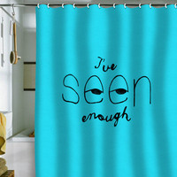 DENY Designs Home Accessories | Nick Nelson Ive Seen Enough 2 Shower Curtain