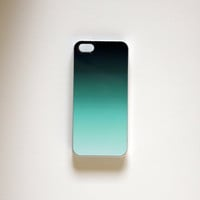 iPhone 5 Case blue ombré