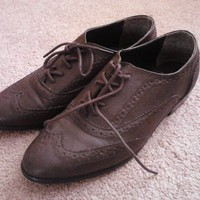 Dark Brown Oxfords