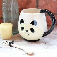pandamonium mug spoon set at ShopRuche.com