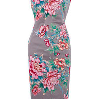 Oasis Dresses |  Multi Kimono Flower Print Dress | Womens Fashion Clothing | Oasis Stores UK