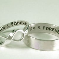His Posey Her Infinity NOW &amp; FOREVER Rings II