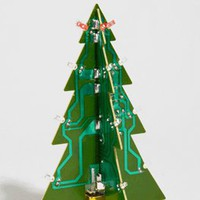 DCI LED Motherboard Christmas Tree | Shop Holiday Decorations Now | fredflare.com