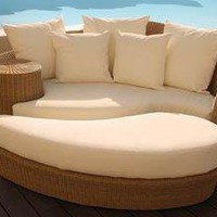 Woven Resin Wicker Outdoor Furniture by Barlow Tyrie