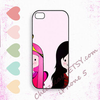 Princess Bubblegum &  Marceline The adventure time iPhone5 Case, iPhone case