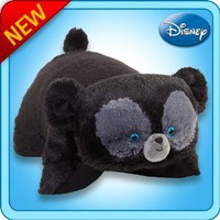"Pillow Pets Authentic Disney 18"" Brave Bear, Folding Plush Pillow- Large"