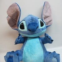 Lilo and Stitch Disneyland Disney World Exclusive Authn 15&quot; Plush Stuffed Animal
