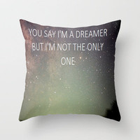 DREAMER Throw Pillow by Sjaefashion | Society6