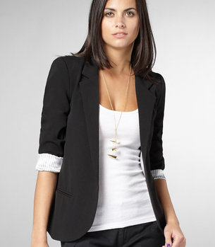 Boyfriend Blazer | Shop Necessary Objects Blazers | fredflare.com