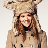 ASOS | ASOS Faux Fur Bunny Ear Hat at ASOS
