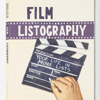 Film Listography Journal - Assorted One Size- Assorted One