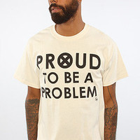 The Proud To Be Problem Tee in Natural