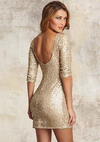 Karen Sequin Dress at Alloy