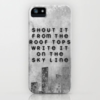 Impossible iPhone Case by Ally Coxon | Society6