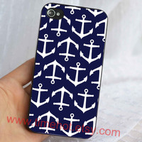 anchor iphone case,iphone 4,4s case,iphone 4,4s ,iphone hard case
