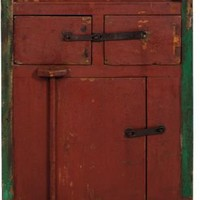 One Kings Lane - Pat McGann - Vintage Chinese Side Cabinet