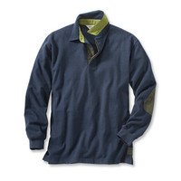 Long-Sleeved Rugby Shirt / Gentleman's Long-Sleeved Rugby Shirt -- Orvis