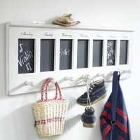 Blackboard Peg Rack ? Cox & Cox, the difference between house and home.