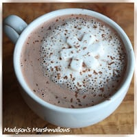 Snowflake Marshmallows for Hot Cocoa by madysonsmarshmallows