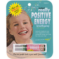 Funny POSITIVE ENERGY BREATH SPRAY