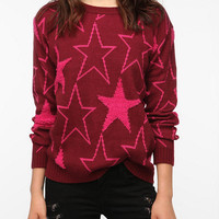 Lucca Couture Textured Pullover Sweater