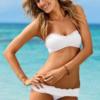 Eyelet Bandeau Top - Beach Sexy?- - Victoria&#x27;s Secret
