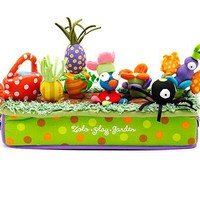 PLAY GARDEN | Cute, Colorful, Soft, Magnetic Flower, Vegetable Garden Toy Gift for Toddlers | UncommonGoods