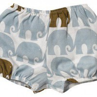 "Zebi Baby ""Blue Elephant"" Bum Cover"