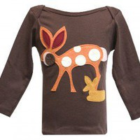 "Decaf Plush ""Doe, A Deer"" Bodysuit or T-Shirt"