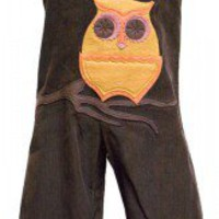"Decaf Plush ""Owls"" Romper or Overalls"