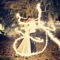 Wedding ideas / Sparklers on we heart it / visual bookmark #17684664
