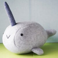 Handmade Gifts | Independent Design | Vintage Goods The Baby Narwhal