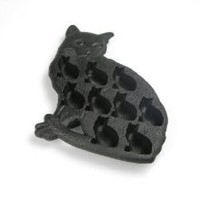 BNM Corporation - Amazon.com: Lekue Classic Cat Ice Cube Tray, Black: Kitchen & Dining