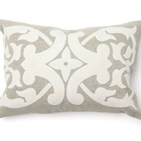 "Madison 14"" x 20"" Pillow in Cream - Villa Home Collection 