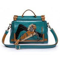 Wholesale New style hot sale cheap personalized totes blue - Lovely Fashion