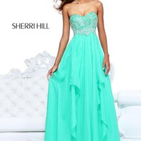 Sherri Hill Dress 3874 at Peaches Boutique